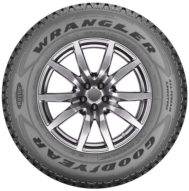 WRANGLER ALL-TERRAIN ADVENTURE - Pneus été Tire - 245/65/R17/111T